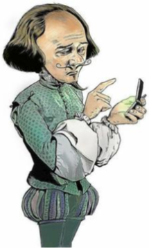 Shakespear cell phone
